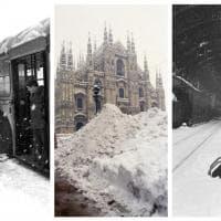 La nevicata del secolo nelle foto d'epoca: a Milano il grande freddo del 1985