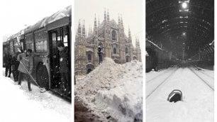Il day after di Milano: la grande nevicata del 1985  che paralizzò la città