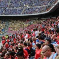Inter-Sassuolo: sugli spalti niente tifosi ma 10mila bambini e ragazzi: