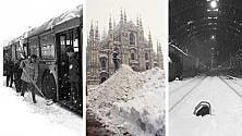 La grande nevicata  dell'85: le foto  dell'evento del secolo
