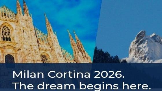"""Olimpiadi invernali 2026, la richiesta del Trentino: """"Dolomiti nel logo con Milano e Cortina"""""""