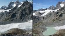 La #10yearschallenge del riscaldamento globale: l'effetto sui ghiacciai lombardi pari a 25 campi da calcio