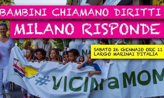 """Il condominio di Milano che sfratta l'asilo, flash mob per la Locomotiva di Momo: """"Aiutateci a salvarla"""""""