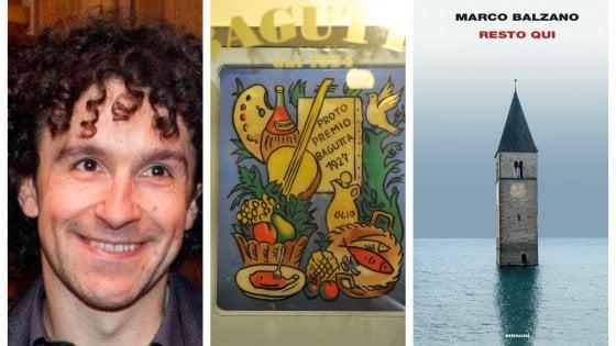 """Premio Bagutta 2019, vince """"Resto qui"""" di Marco Balzano"""