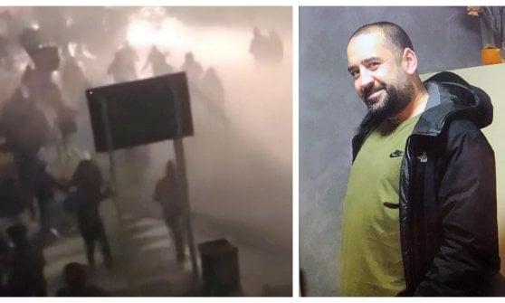 Scontri Inter-Napoli: delegazioni di ultrà da tutta Italia per il tifoso ucciso, fumogeni e cori al cimitero