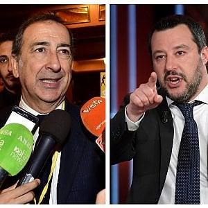 """Milano, Salvini: """"Cambiamo sindaco"""". E Sala: """"Cambiamo ministro"""""""