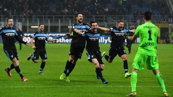 Coppa Italia, Inter-Lazio 4-5 ai rigori: biancocelesti in semifinale