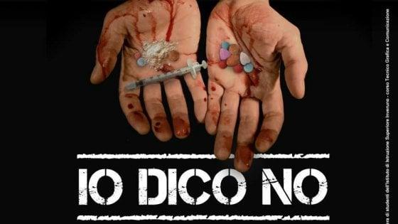 """""""Io dico no"""": la campagna contro la droga del Comune di Milano realizzata dagli studenti"""