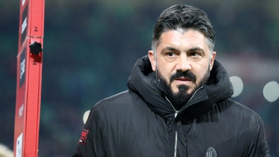 Milan, Gattuso: ''Prossime partite ci diranno se siamo diventati adulti''