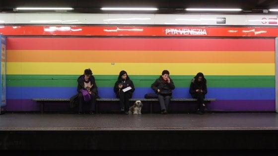 Torna l'arcobaleno alla fermata Porta Venezia del metrò di Milano: accordo raggiunto tra Atm e Nike