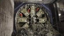 La talpa scava e sbuca alla stazione Frattini: completata un altro tratto di galleria della M4