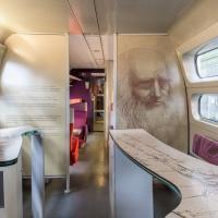 Parigi-Milano in treno sulle orme di Leonardo: l'omaggio del Tgv per i 500 anni della sua morte