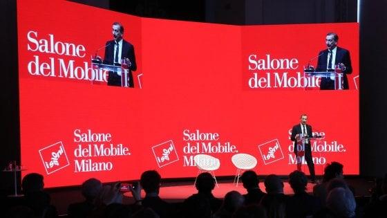 """Salone del mobile, l'omaggio a Leonardo nell'edizione 2019: """"Riferimento per i designer di oggi"""""""