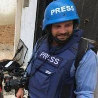 """""""Gabriele vede da entrambi gli occhi"""": da Bagdad le prime notizie sul fotoreporter..."""