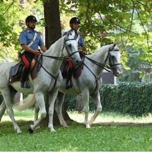 Vendevano cocaina nelle campagne del Pavese, due pusher arrestati dai carabinieri a cavallo