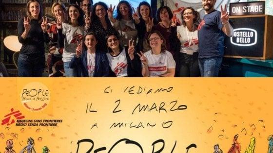 """2 marzo, tutto sulla marcia dei diritti di Milano: con Bisio, Vecchioni e le Ong al ritmo di """"People have the power"""""""
