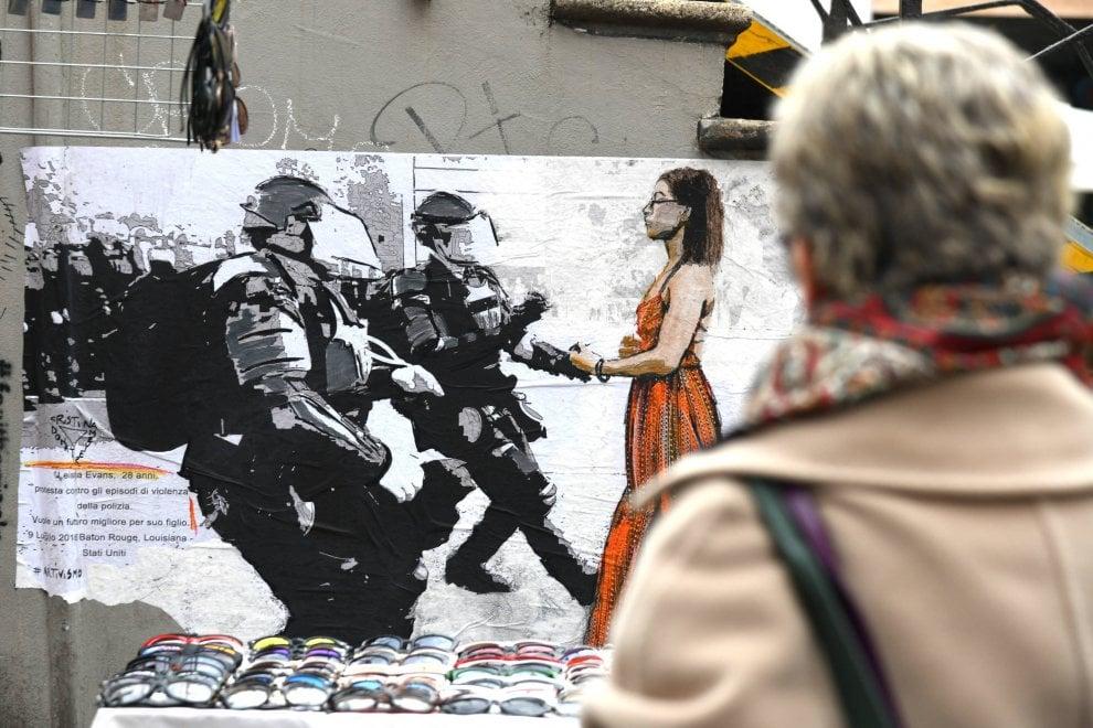 Le ragazze ribelli sui muri di Milano: l'8 marzo per Leshia, Danuta, Saffiyah e Tess
