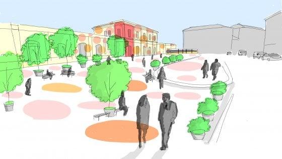 Risultati immagini per Milano, nasce una nuova piazza pedonale a Porta Genova