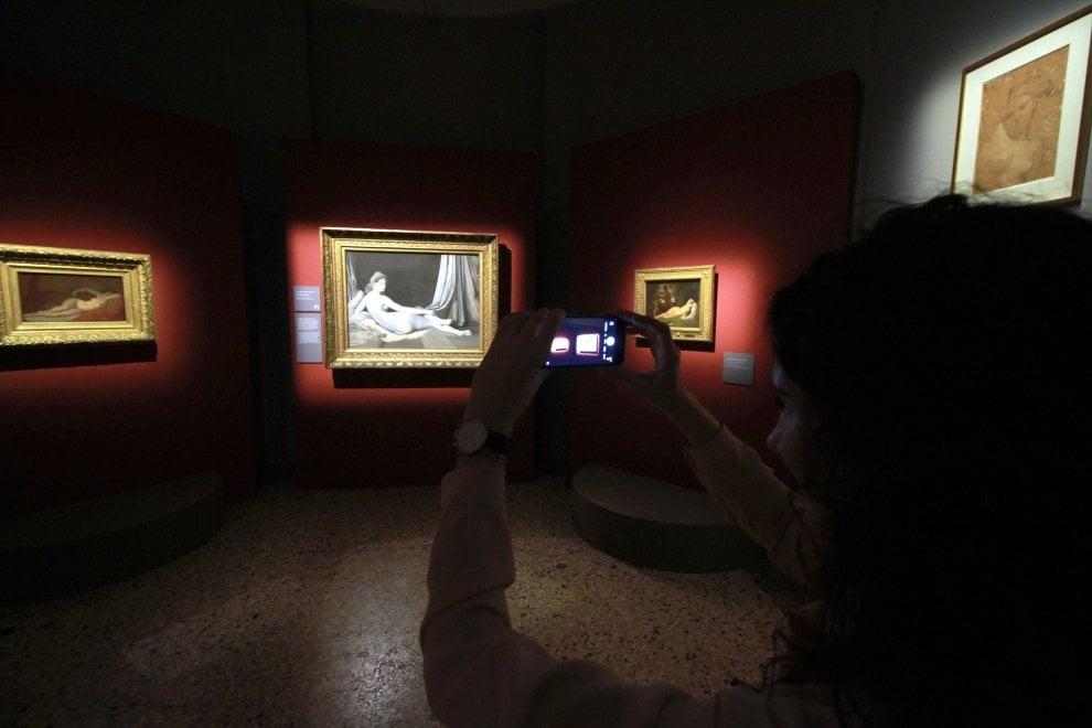 Milano, l'anteprima della mostra di Ingres a Palazzo Reale