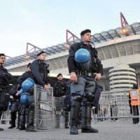 Milano, giovedì Inter-Eintracht: niente alcolici in zona San Siro