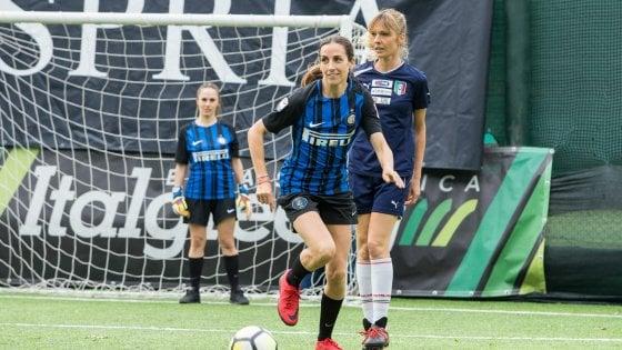 Il derby della Madonnina si gioca al femminile: le wags di Milan e Inter in campo per solidarietà