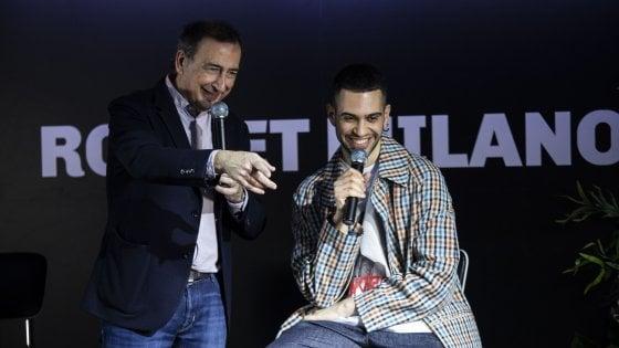 """Mahmood intervistato da Sala: """"Trovo l'ispirazione in tram"""""""
