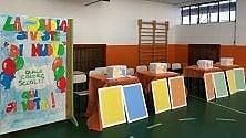 La scuola sarà gialla e blu  i bimbi scelgono i colori  di LUCIA LANDONI
