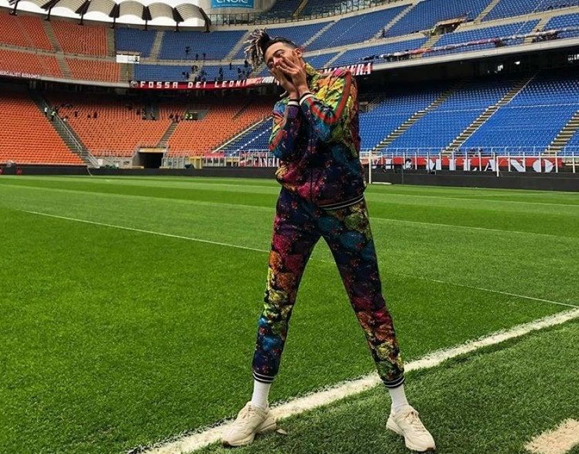 Derby Milan-Inter, Ghali a San Siro con il suo ultimo singolo: l'annuncio su Instagram