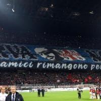 Milan-Inter, striscione ultrà con bandiera dei neonazisti varesini: interrogazione del Pd