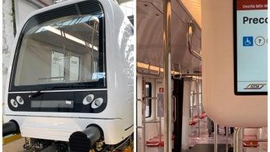 Sala a Reggio Calabria, dove si costruiscono i treni supertecnologici della M4