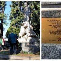 Targa sul monumento mussoliniano al Monumentale: la provocazione dei neofascisti
