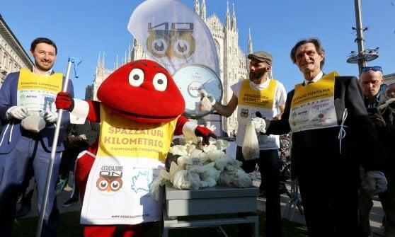 Milano, è la giornata mondiale dell'acqua: il brindisi di Sala alla vedovella