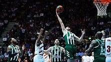 Milano ko nella gara verità, Panathinaikos vince 83-95