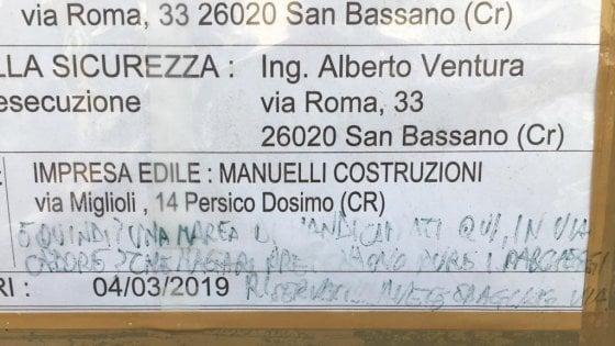 Cremona, scritte contro i disabili sulla nuova sede dell'associazione per il basket inclusivo