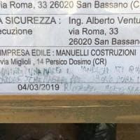 Cremona, scritte contro i disabili sulla nuova sede dell'associazione per