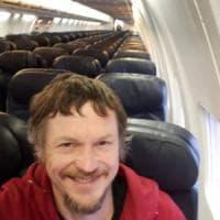 Un aereo tutto per sé: in volo da solo dalla Lituania a Bergamo su un aereo da 188 posti
