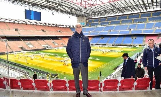 """Olimpiadi invernali 2026, Cio in visita a San Siro: """"Nessuna preoccupazione per il futuro dello stadio"""""""