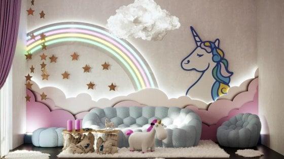 Dormire nella casa degli unicorni: a Milano il sogno si avvera per ...