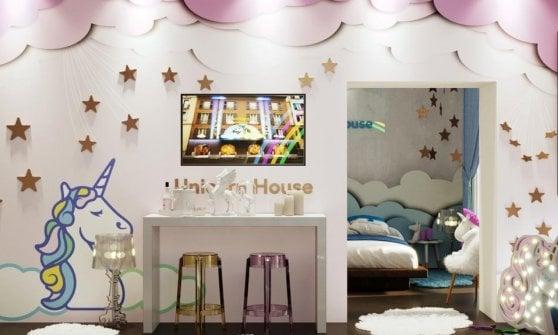 Dormire nella casa degli unicorni: a Milano il sogno si ...