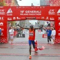 Doppio record alla Milano Marathon: la gara più veloce in Italia