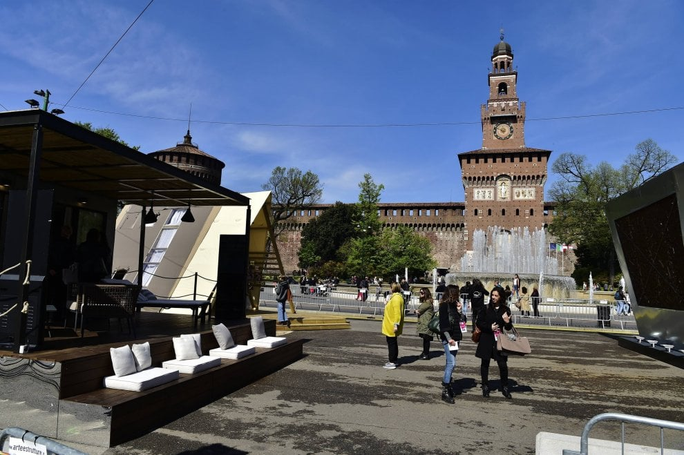 Le tende da campeggio di lusso per il Fuorisalone: a Milano il design ecosostenibile