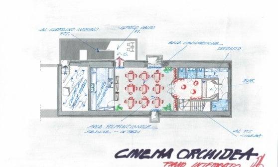 Milano, dopo dieci anni via ai lavori per il cinema Orchidea: rinasce la storica sala