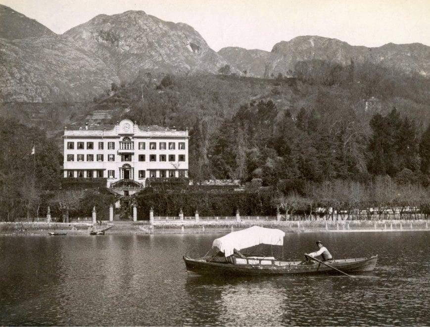 Il lago di Como nell'Ottocento: le foto amarcord a Villa Carlotta