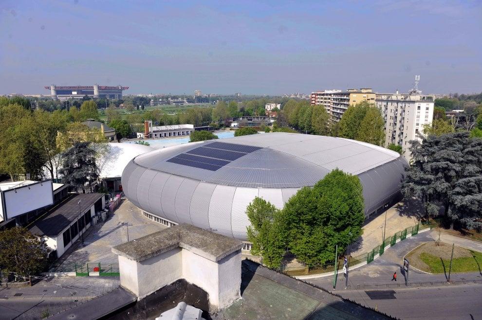 Milano, ultimi ritocchi al Palalido: potrà ospitare 5mila persone