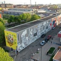 Il Politecnico Bovisa diventa un museo a cielo aperto: duemila metri quadri di murales