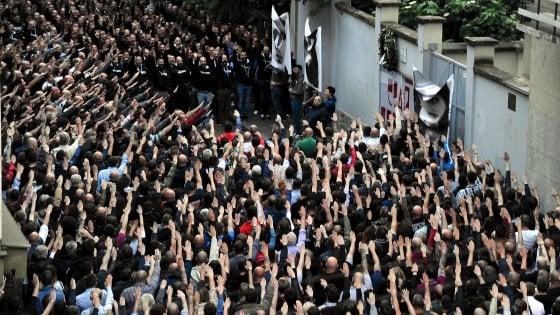 """Appello di Lega e destra: """"Sì al corteo neofascista per Ramelli"""""""