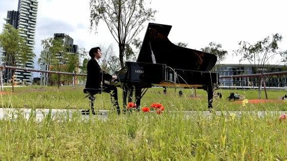 Milano, Piano City con 458 concerti dilaga in periferia: esibizioni anche al Bosco di Rogoredo