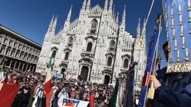 25 Aprile, festa in piazza Duomo polemica M5S con gli organizzatori