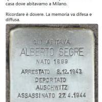 """""""Ricordare è dovere"""": il tweet di Liliana Segre per il 25 Aprile dedicato a suo padre vittima della Shoah"""