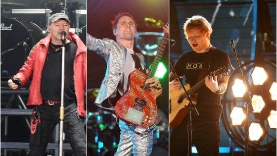 Muse, Ed Sheeran, Vasco: i siti vendono i concerti a più di 2 mila euro